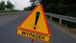 RMF: Wypadek na Mazowszu. Dziewięć osób rannych