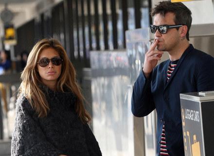 Robbie Williams z przyszłą żoną /Agencja FORUM