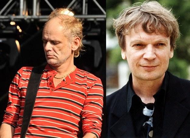 Robert Brylewski i Grzegorz Ciechowski to legendy polskiego rocka /AKPA