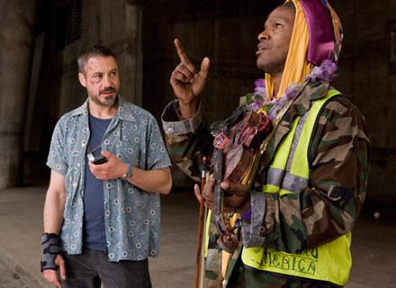 """Robert Downey Jr. i Jamie Foxx w """"Soliście"""" /materiały dystrybutora"""