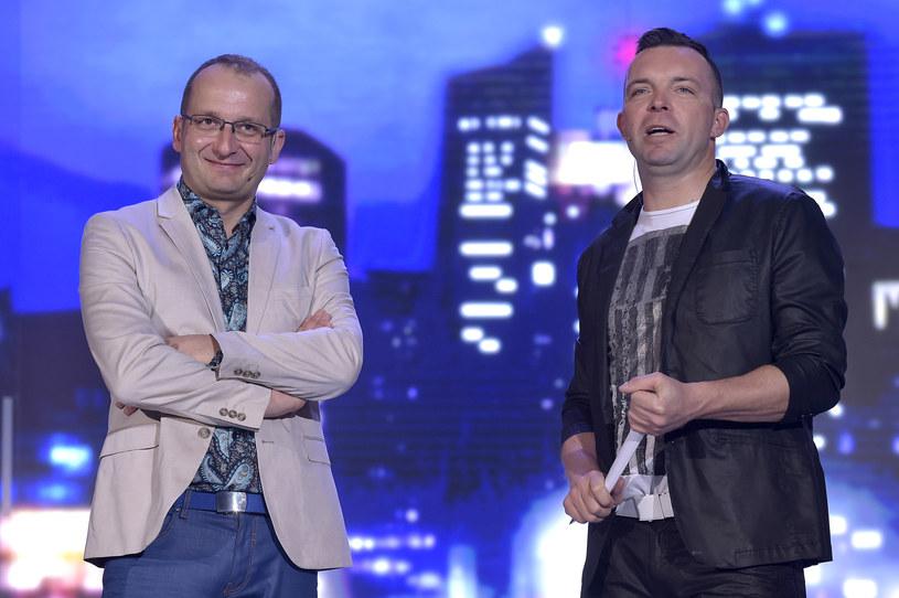 """Robert Górski i Marcin Wójcik w programie """"Latający Klub Dwójki"""", który również ma być kontynuowany /AKPA"""