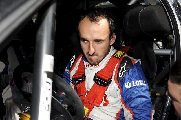 Robert Kubica będzie startował w całym cyklu WRC! /AFP