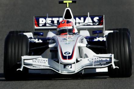 Robert Kubica (BMW Sauber F1) / kliknij /AFP