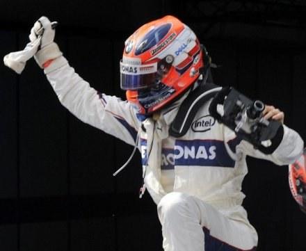 Robert Kubica była bardzo zadowolony ze swojej jazdy /AFP