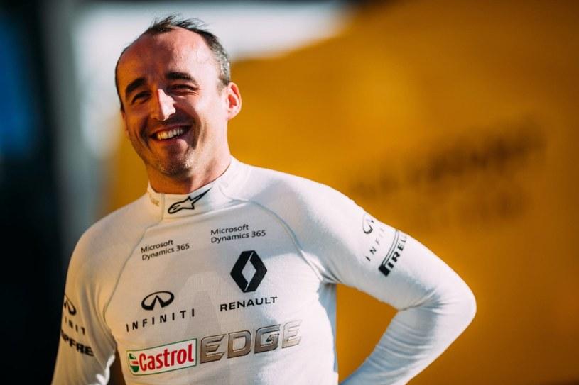 Robert Kubica jest zadowolony z jazdy, ale nie wie co przyniesie przyszłość /