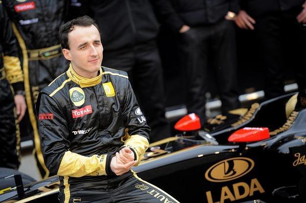 Robert Kubica, kierowca zespołu Lotus-Renault /AFP