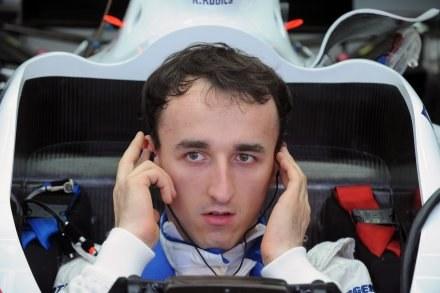 Robert Kubica ma za sobą udany trening /ASInfo