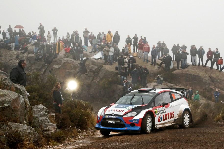 Robert Kubica na trasie Rajdu Argentyny /Andre Lavadinho/Panoramic /PAP
