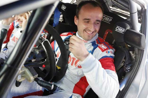 Robert Kubica startuje w rajdach samochodowych /Fot. M-Sport /