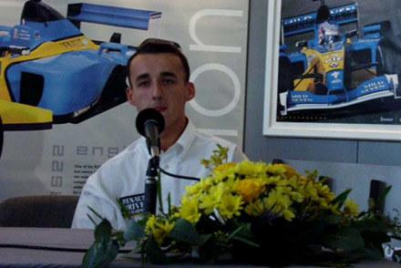 Robert Kubica w  2001 roku /INTERIA.PL/PAP