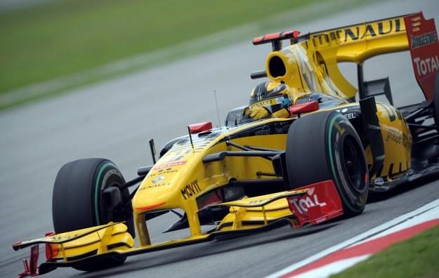 Robert Kubica w wyścigu o Grand Prix Malezji zajął 4. miejsce /AFP