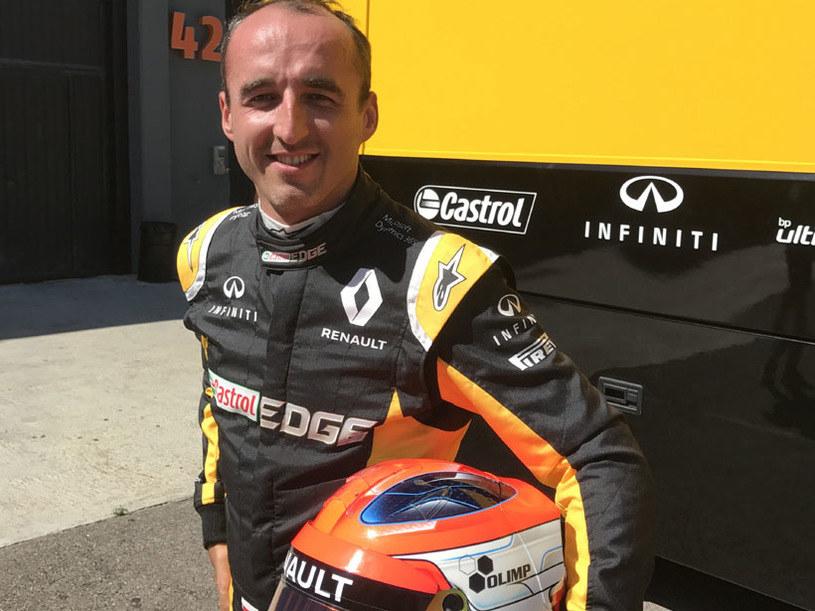 Robert Kubica znów ma okazję jeździć bolidem F1 /