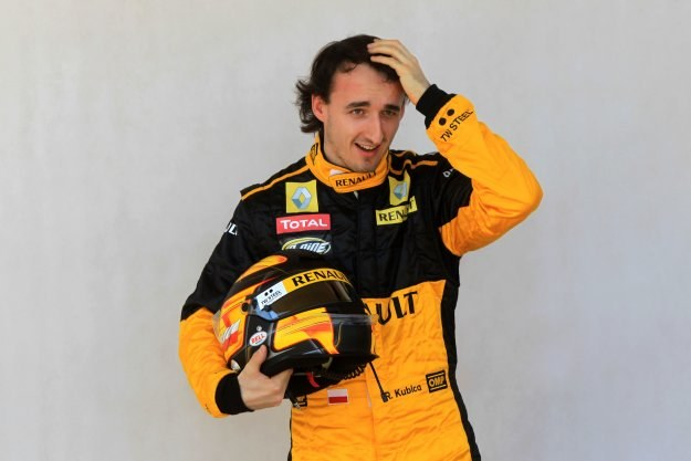 Robert Kubica został uznany najbardziej walecznym kierowcą F1 w sezonie 2010 /AFP