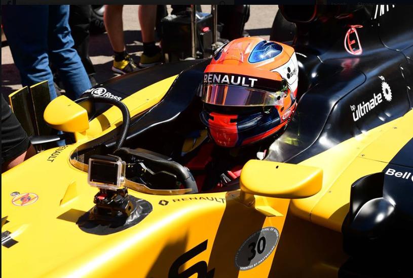 Robert Kubica /Fot. Renault Sport Formula One Team /