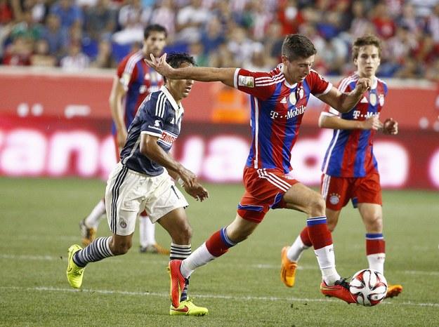Robert Lewandowski: Jestem w stałym kontakcie z trenerem