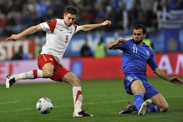 Robert Lewandowski, napastnik reprezentacji Polski i mistrza Niemiec Borussii Dortmund /AFP
