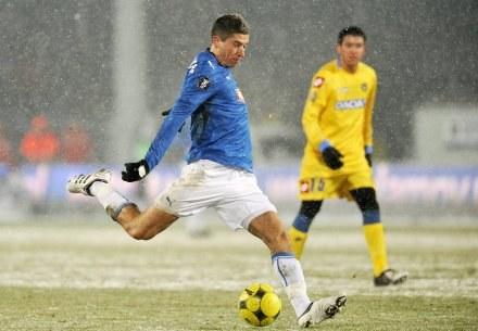 Robert Lewandowski występ w pierwszym meczu przeciwko Udinese okupił kontuzją/fot. Łukasz Laskowski /Agencja Przegląd Sportowy