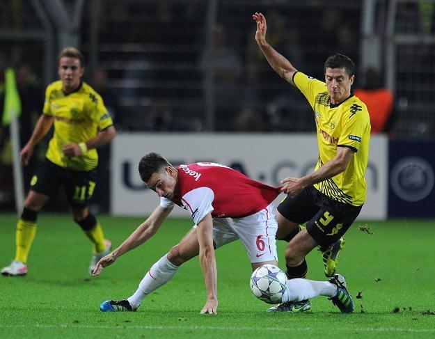 Robert Lewandowski zaliczył najlepszy weekendowy mecz z wszystkich kadrowiczów Smudy /AFP