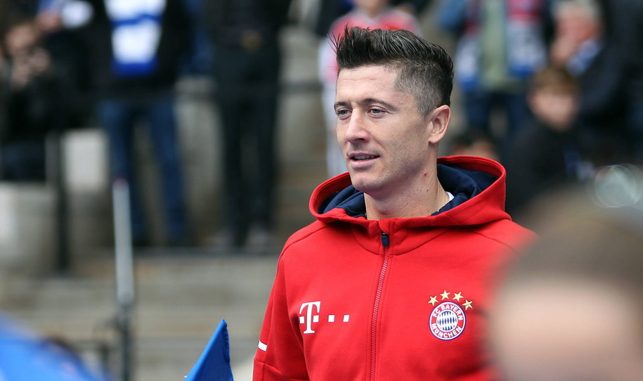 Robert Lewandowski /DPA/Sport Moments/Gora /PAP
