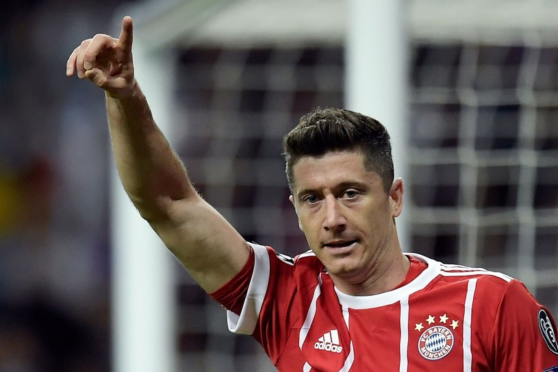 Robert Lewandowski /AFP /East News