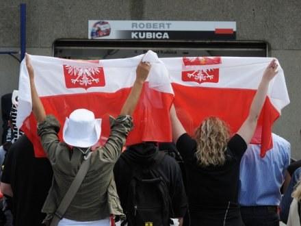 Robert liczy na polskich kibiców /AFP