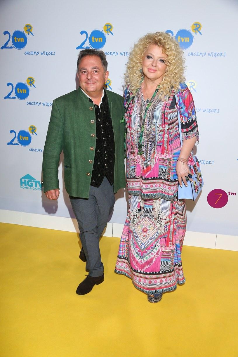 Robert Makłowicz i Magda Gessler /Kamil Piklikiewicz /East News