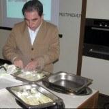 Robert Makłowicz przygotował gotowane na parze szparagi /INTERIA.PL