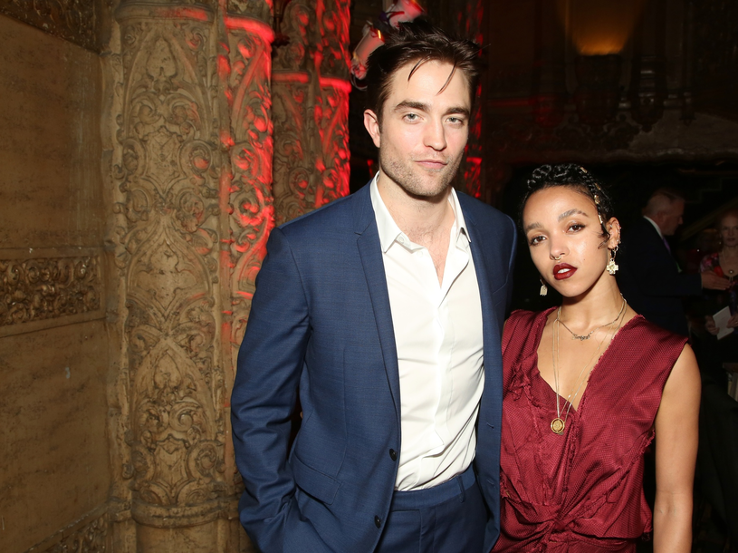 Robert Pattinson i FKA Twigs /East News