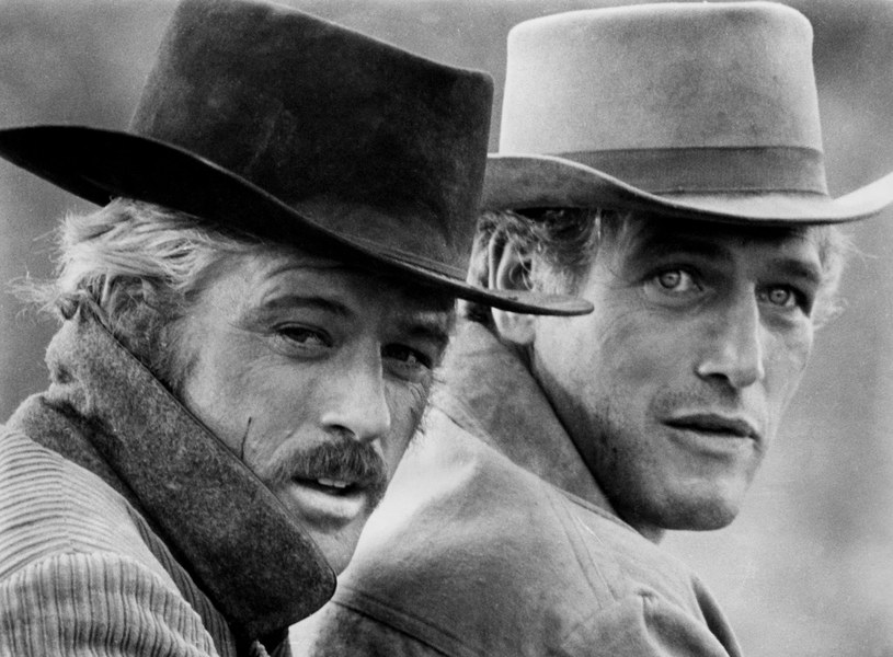 "Robert Redford i Paul Newman w filmie ""Butch Cassidy and the Sundance Kid"" (1969) /materiały dystrybutora"