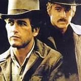 "Robert Redford i Paul Newman w filmie ""Butch Cassidy i Sundance Kid"" /"
