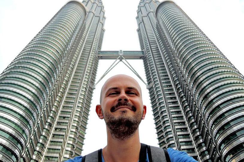 Robert Rient w Kuala Lumpur /erient.info /materiał zewnętrzny