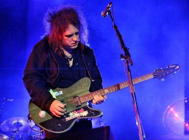 Robert Smith, frontman The Cure - fot. Kevin Winter /Getty Images/Flash Press Media