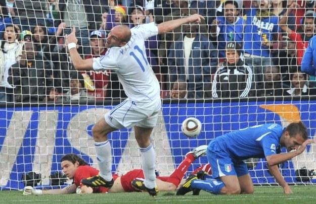 Robert Vittek ma już na koncie trzy gole /AFP