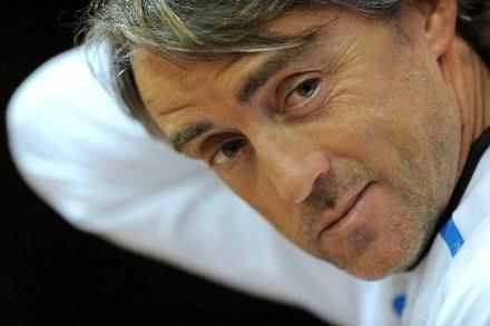 Roberto Mancini ma odbudować Zenit. /AFP