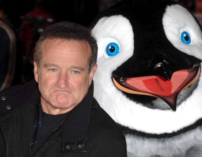 Robin Williams /PAP/EPA/DANIEL DEME /PAP/EPA