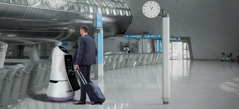 Robot Airport Guide /materiały prasowe