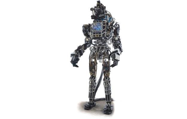 Robot Atlas. Fot. DARPA /materiały prasowe