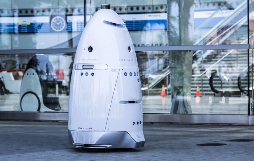 Robot Knightscope K5 to maszyna patrolująca ulice /materiały prasowe