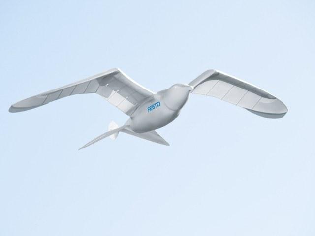 Robot SmartBird /materiały prasowe