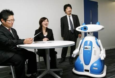Robot Ubiko /AFP