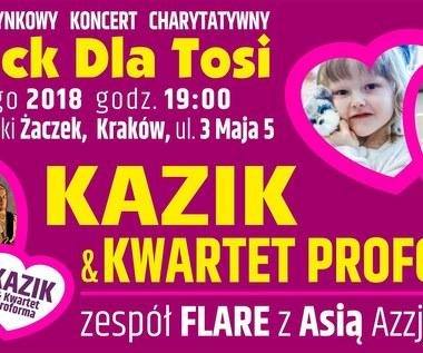 Rock dla Tosi: Kazik i Kwartet ProForma w Krakowie
