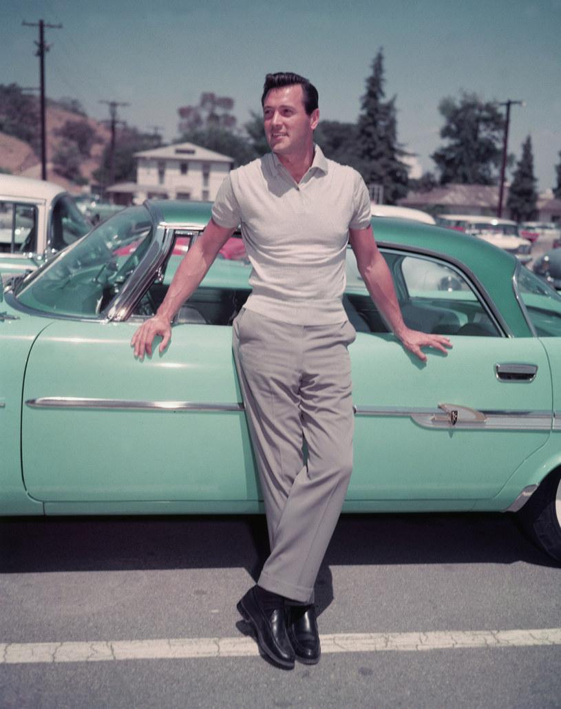 Rock Hudson - wzór męskości w latach 60. w Hollywood /Hulton Archive /Getty Images