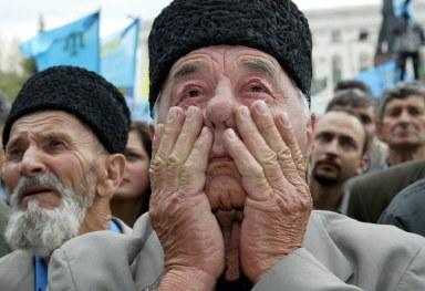 Rocznica deportacji Tatarów z Krymu /AFP
