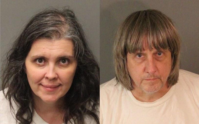 Rodzice, którzy uwięzili swoje dzieci /Riverside County Sheriff's Department /PAP/EPA