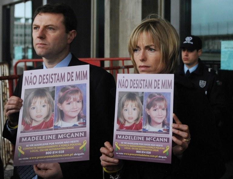 Rodzice Madeleine, zdj. archiwalne /AFP