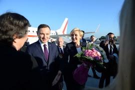 Rodzina prezydencka z wizytą w Watykanie