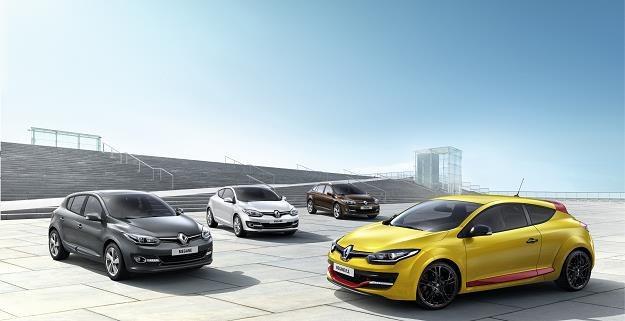 Rodzina Renault Megane po liftingu /