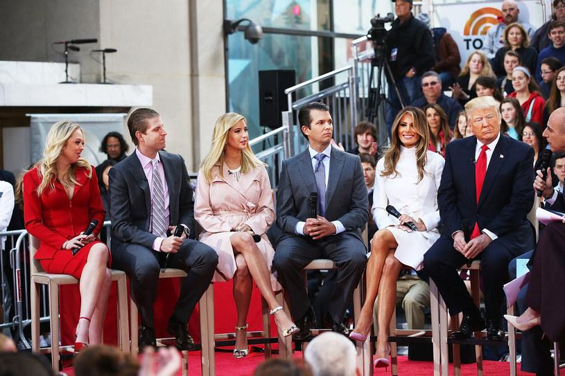 Rodzina Trumpów /Spencer Platt /Getty Images