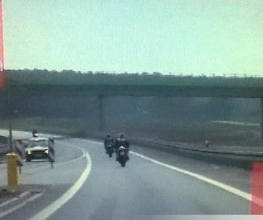 Rodzinna przejażdżka motocyklami. 200 km/h!