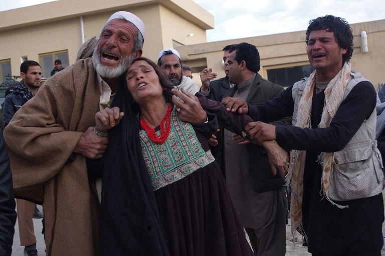 Rodziny ofiar /AFP
